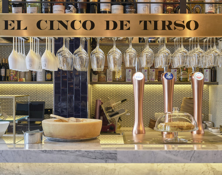 El 5 de Tirso es un templo de tirar cerveza