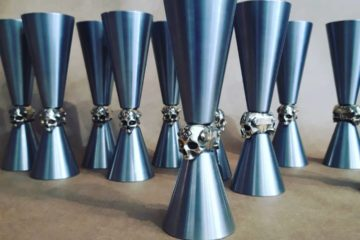 Jiggers made by Botessi Bar Tools