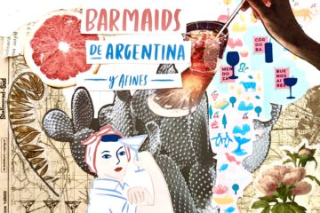 mapa de barmaids collage